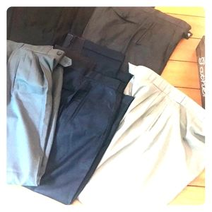 Lot 7 pair of business pants